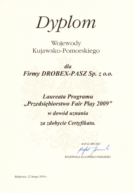 Drobex-Pasz_FAIR_PLAY_2009